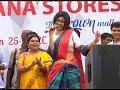 Oviya In Chennai Omr Saravana Stores Full Speech Of Oviya In Omr  Omr Oviya