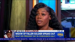 Interview With The Wife of Fallen U.S. SoliderSergeant La David Johnson,