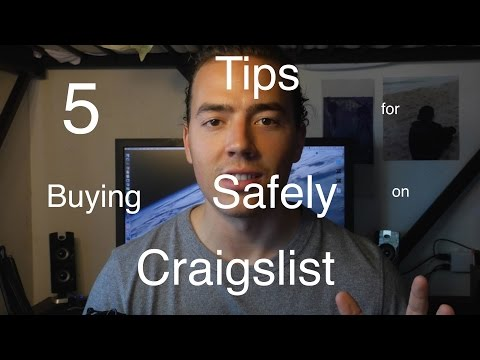 5 Tips for Buying Safely on Craigslist