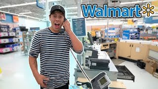 "SINGING ""DESPACITO"" ON THE WALMART INTERCOM! (RIGHT IN FRONT OF THE WORKERS)"