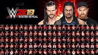 WWE 2K19 FULL CONFIRMED ROSTER Videos - ytube tv