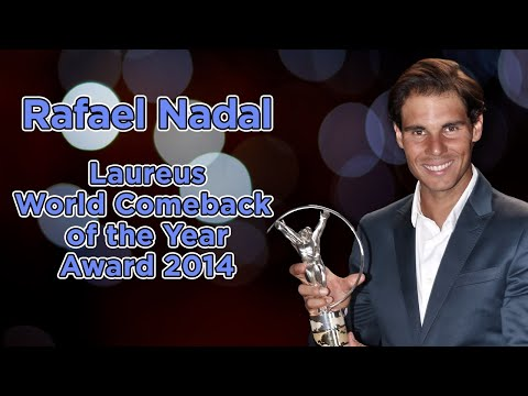 Rafael Nadal Laureus World Sports Awards 2014 Acceptance Speech