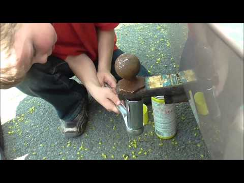 Fixing a Trailer Hitch & A Free Trailer vlog 5-8-15