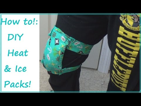 TUTORIAL! | Strapped Heat & Ice Packs! | Sewing Nerd!