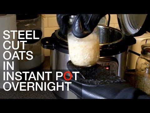 Overnight Steel-Cut Oats in the Instant Pot