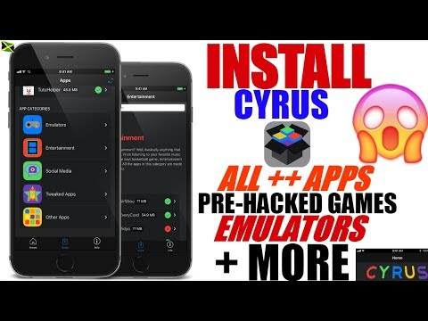 iOS 9-10.3.3/11: Install (CYRUS) Get ALL ++ APPS, iOS Emulators, Pre-Hacked Games, Movie Apps +More