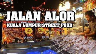 Kuala Lumpur Street Food I Wisata Kuliner di jalan Alor & Bukit Bintang Malaysia