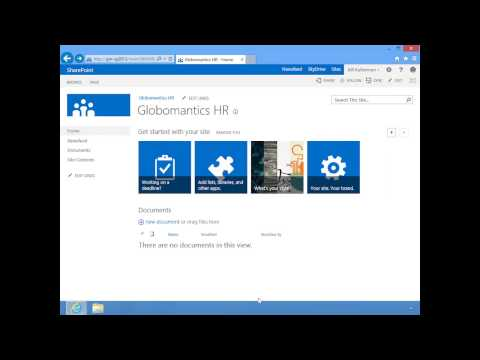 SharePoint 2013 - Team Sites