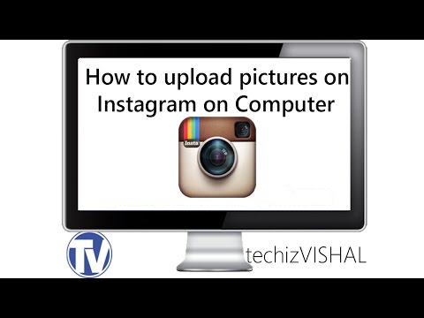 How to upload pictures on Instagram from COMPUTER [2015] [HD]