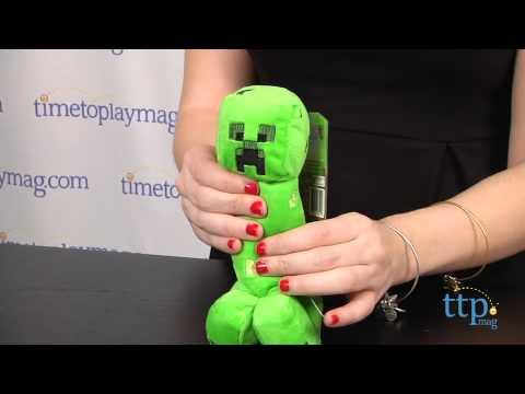 Minecraft Series One Overworld Creeper Plush from Jazwares