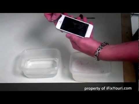 iPhone 5 Water Damage Repair - What should you do if you drop it in liquid..