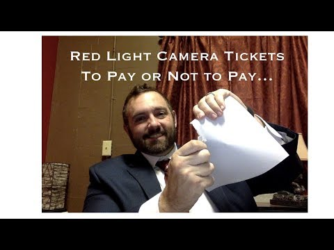 Kickin' Lawyer: Red Light Camera Tickets - To PAY or Not To PAY
