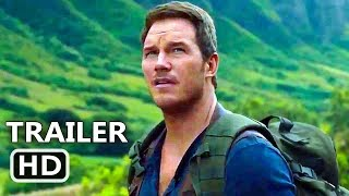 "JURASSIC WORLD 2 New ""T-Rex"" Trailer TEASER (2018) Chris Pratt, Dinosaurs Movie HD"