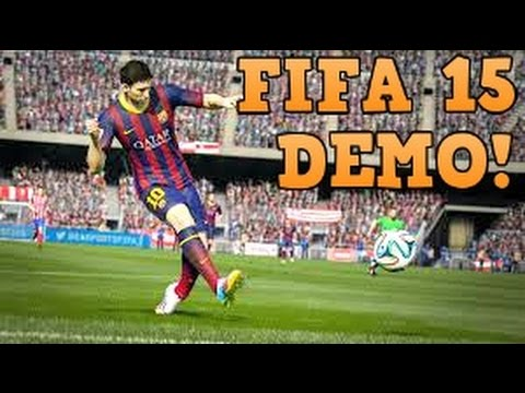 FIFA 15 Demo Gamplay | Xbox 360 FIFA 15 Downloadable Demo Gameplay!