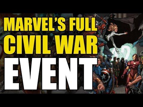 Marvel's Full Civil War Event
