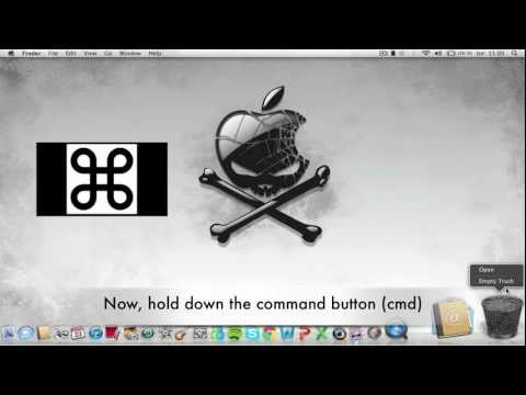 How to delete a file that won´t delete on Mac (VERY SIMPLE)  [HD]