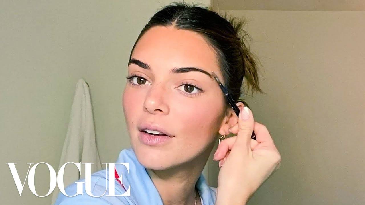 KendallJenner's Acne Journey, Go-To Makeup and Best Family Advice | Beauty Secrets | Vogue