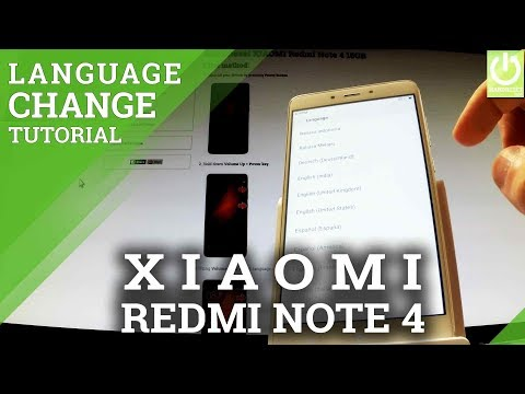 How to Change Language in XIAOMI Redmi Note 4 - Language Settings