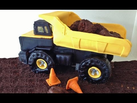 Truck Cake 3D Tutorial HOW TO Cook That