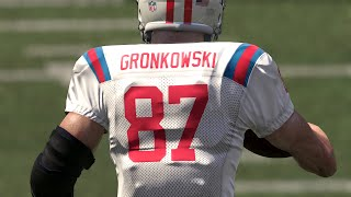 Rob Gronkowski Breaking The Game Madden 16 Draft Champions Gameplay