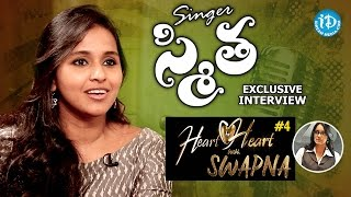 Singer Smita Exclusive Interview || Heart To Heart With Swapna #4