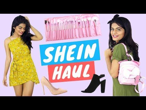 SHEIN TRY ON HAUL + FAQs   Dhwani Bhatt