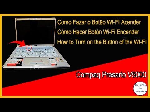 Como Fazer o Botão WIFI do Notebook COMPAQ Presario V5000 acender