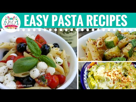 3 Pasta Recipes ideas with Penne Rigate | Mexican Food - Spicy Latina Mom