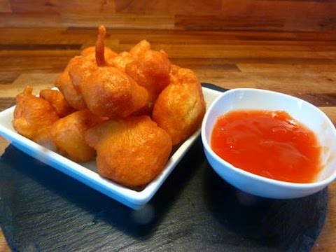 Sweet and Sour Chicken Balls (Very Easy)