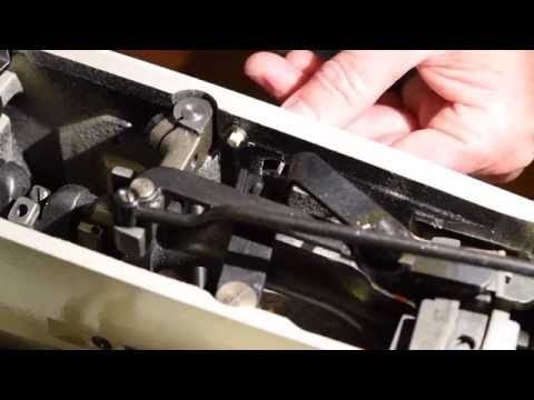 Sewing For Guys: Don't Kick Your Sewing Machine (Singer 237 repair)