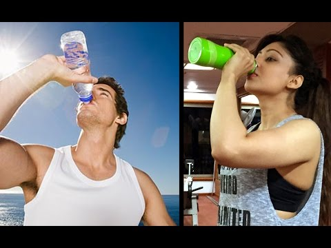 Cold or Warm Water? Which is Better to Drink during Workout?