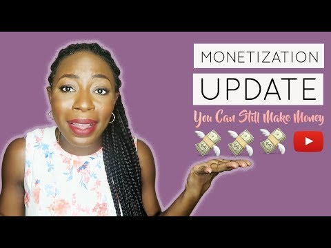 2018 YouTube Monetization Rules: How To Monetize Your Channel Without Adsense | TeefahXOXO