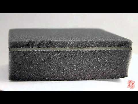 SA25/FF/B/6 - Noise Reducing Acoustic Foam For Enclosures