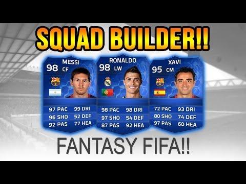 LA LIGA TOTS FANTASY SQUAD! - Squad Builder FIFA 14 Ultimate Team