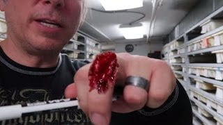 SNAKE BITES AND UNBOXING MORE SNAKES! Brian Barczyk