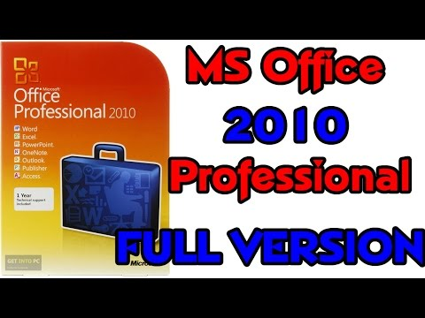 2016-How to download and install Microsoft Office  2010 professional plus for FREE