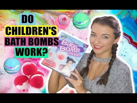 Do Children's Bath Bombs Actually Work? WILD SCIENCE BATH BOMB STUDIO