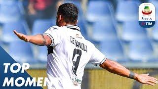 Ceravolo Scores Second Goal Against Genoa For Parma | Genoa 1-3 Parma | Serie A