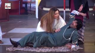 JHEENG CHICKA HASSAN ABBAS ASIF IQBAL - LATEST COMEDY STAGE DRAMA CLIP - HI-TECH PAKISTANI