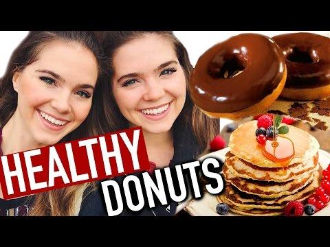 HEALTHY DONUT RECIPE - Low Fat, Vegan - EASY