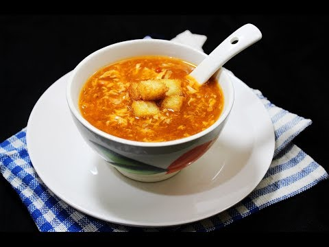 Chicken Schezwan Soup - Chef Lall's Kitchen