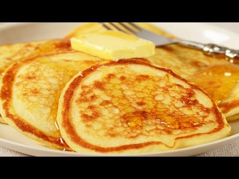 Buttermilk Pancakes Recipe Demonstration - Joyofbaking.com