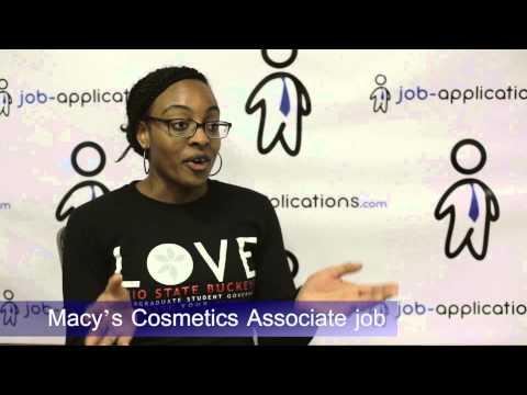 Macy's Cosmetics Associate