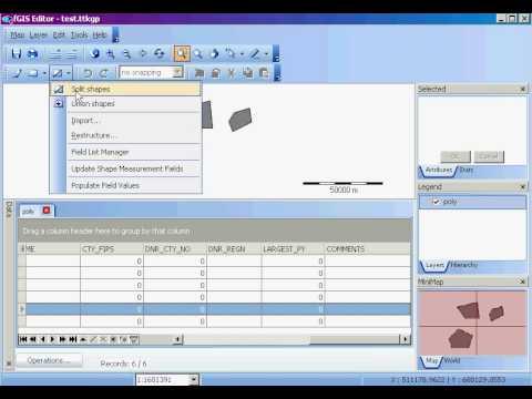 fGIS: Restructure layer