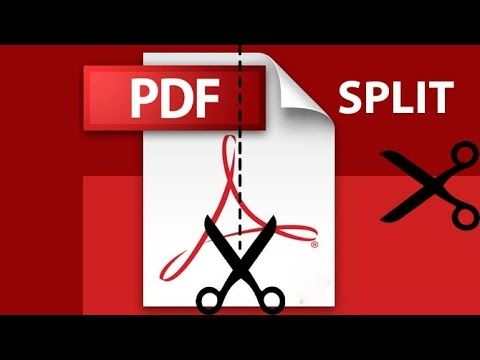 How to Split or Cut PDF Pages   How to Split a PDF document in Adobe and Foxit