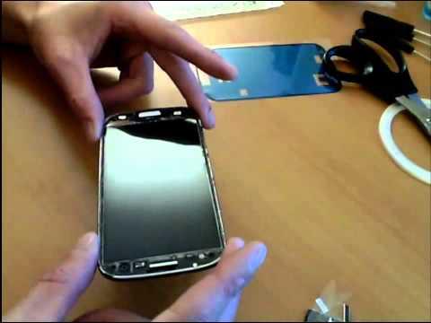 gut Samsung Galaxy S3 /2-5 Glas wechseln  voll