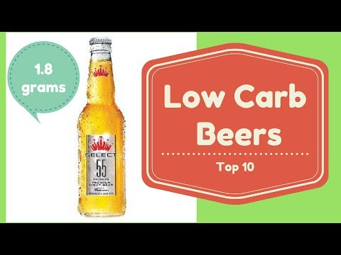 Top Best 10 Low Carb Beers with Low Calories