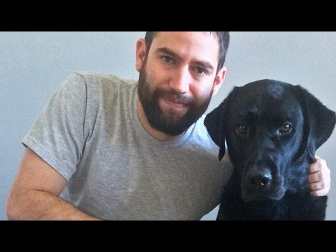 Watch how a dog helped one veteran conquer his PTSD