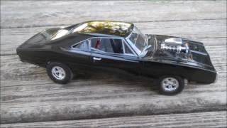 Revell Fast & Furious 1970 Dodge Charger 1:25th Scale Model Finished