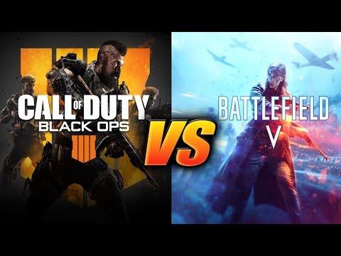 Call of Duty: Black Ops 4 vs Battlefield 5 in 2018